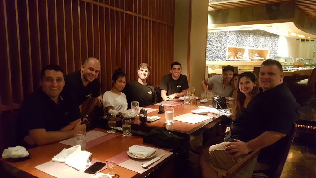 Working Dinner Thailand