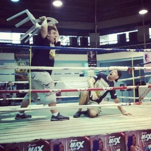 Justin Cooke and John DeVries Charity Boxing Event