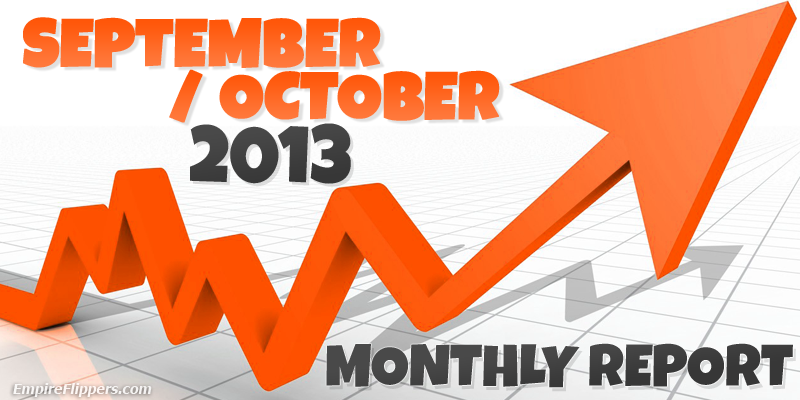 Monthly Report Sep Oct 2013