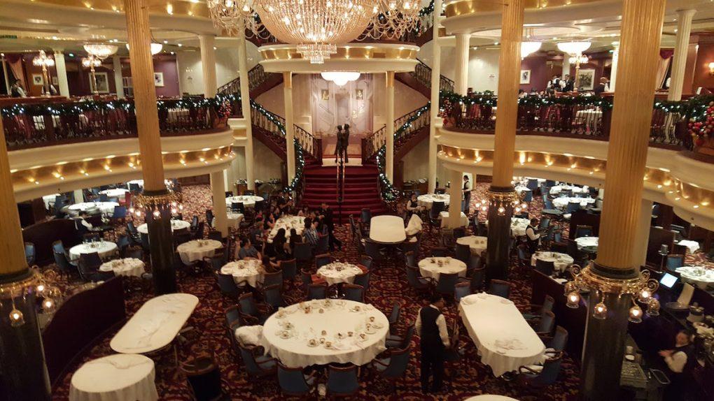 Royal Carribean Cruise Dining Room