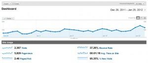 Site A Authority Site Analytics