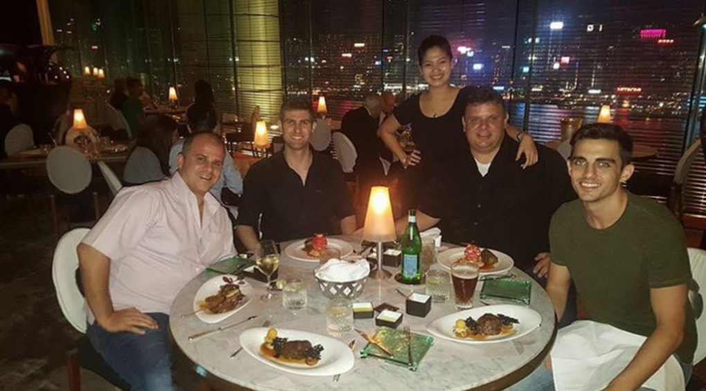 Team Dinner Hong Kong Q2 2016